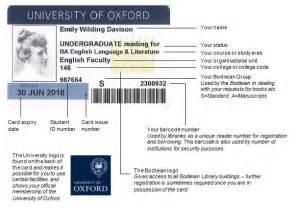 format date bods using your university card estates services