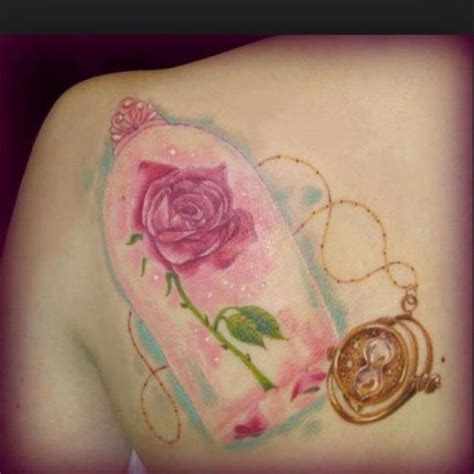 disney rose tattoo and the beast 15 cutest disney tattoos that