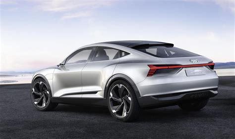 audi  tron sportback concept debuts  shanghai show