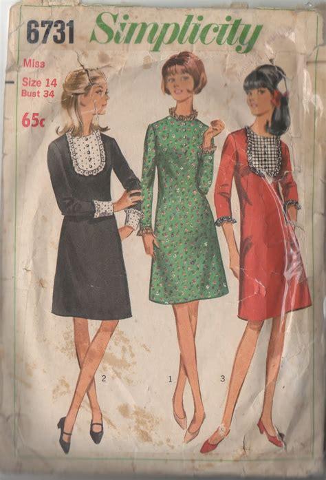 sewing pattern review blog pattern review vintage simplicity 6731 sew tessuti blog