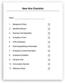 employment checklist template new hire checklist and welcome letter included in hr letters