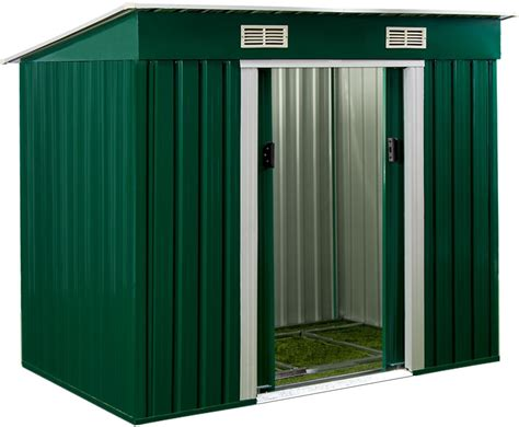 Metal Tool Shed by Garden Metal Tool Shed Patio Outdoor Bikes Tools Storage
