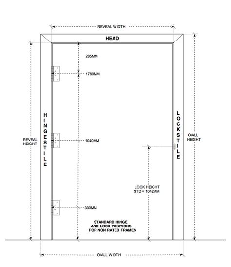 Door Jamb Size by Images Of Opening For Knock Door Frames Woonv