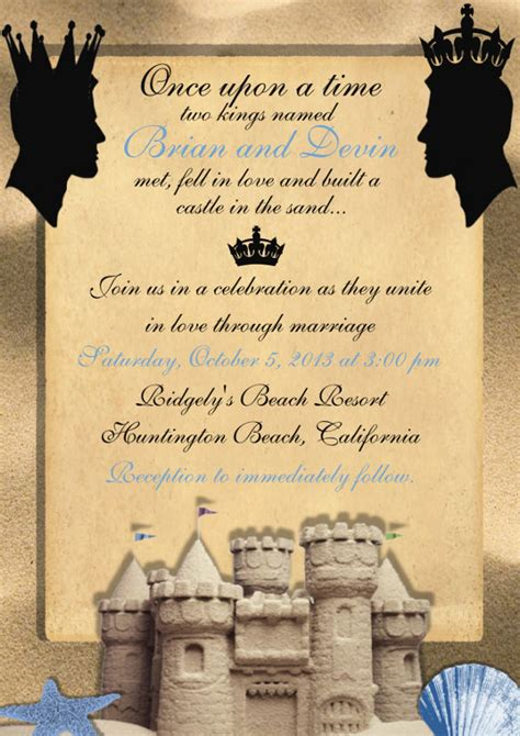 18 gay wedding invitation templates free sle