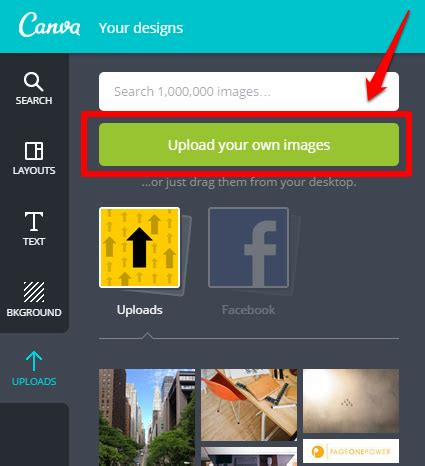 canva button using canva to create high quality images for blog posts