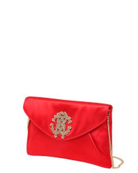 Roberto Cavalli Satin Clutch by Summers S Roberto Cavalli Silk Satin Clutch