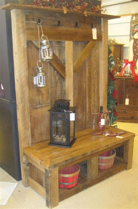 reclaimed wood railings customized barn wood furniture fence row furniture lake home ideas