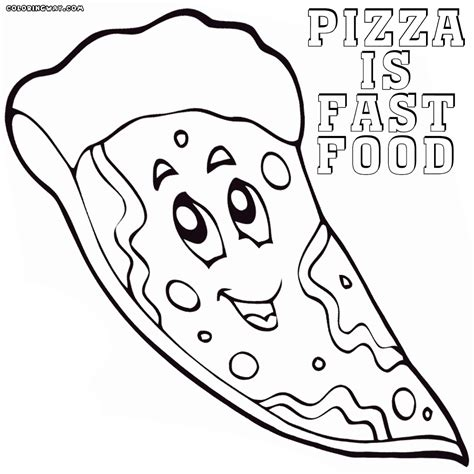 Coloring Page Food by Fast Food Coloring Pages Coloring Pages To And
