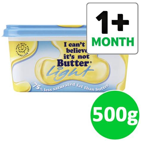 I Can T Believe Butter Light Spread 500g Groceries Butter Lights