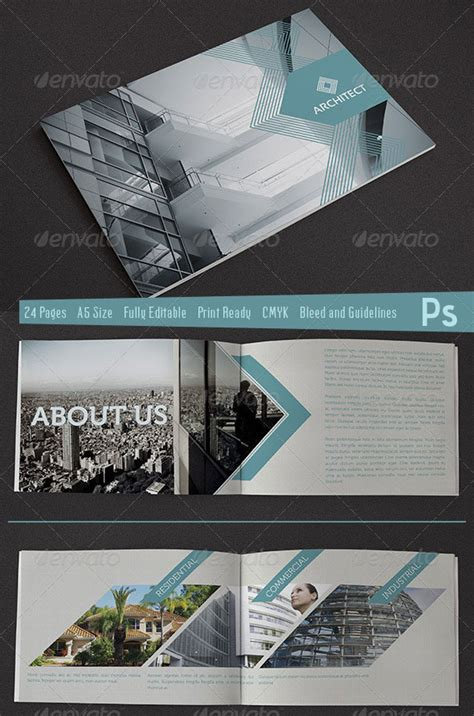 welcome brochure architect branding publication