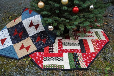 Patchwork Tree Skirt - patchwork tree skirt two designs in one pattern