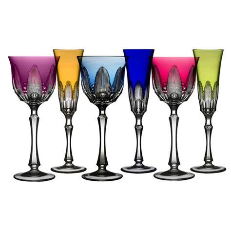 colored wine glasses captiva colored stemware by varga gracious style