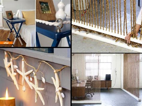 diy home interiors 34 fantastic diy home decor ideas with rope amazing diy