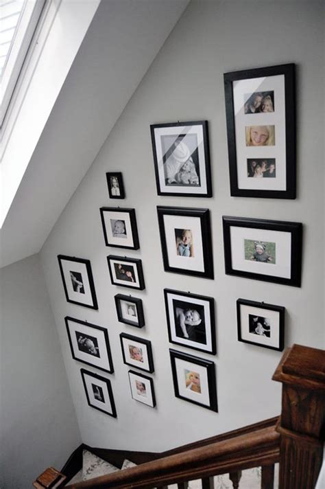 family album stairway