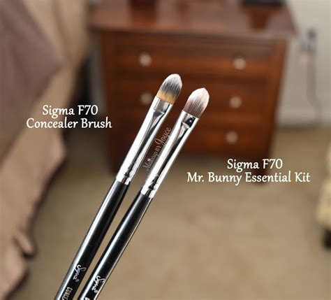 Sigma F70 Concealer makeupbyjoyce review swatches sigma synthetic eye brushes for products