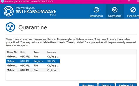 ccleaner quarantine it cost me some patience but it is installed anti