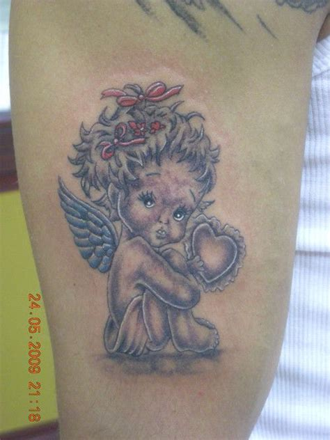 baby girl angel tattoo designs baby images designs