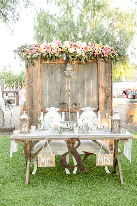 rustic wedding table decorations vintage rustic wedding table decoration