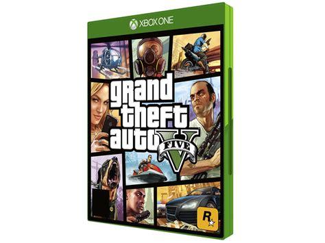 Xbox One Gta V Originall grand theft auto v para xbox one rockstar jogos de xbox one magazine luiza