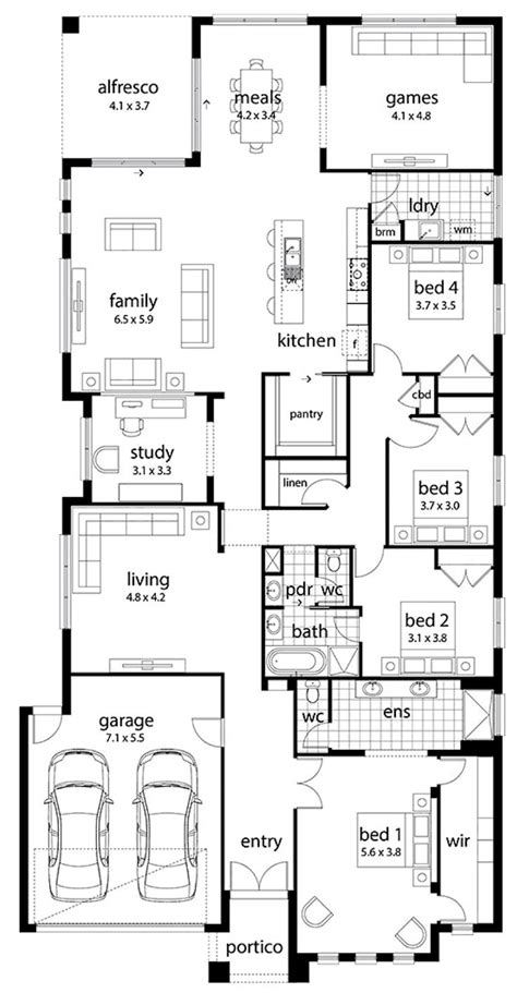 Pantry Crossword by 25 Best Ideas About Narrow House Plans On