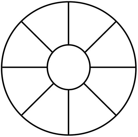 wheel template spin wheel template clipart best