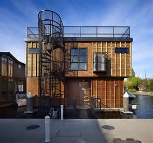 floating homes for modern cabinet floating homes lake union float home