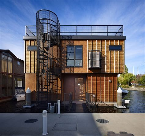 union studio home design world of architecture floating homes lake union float home seattle usa