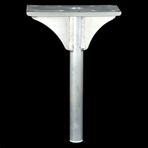 boat seat pedestal diameter boat seat pedestal 50mm od pipe 700 high ebay