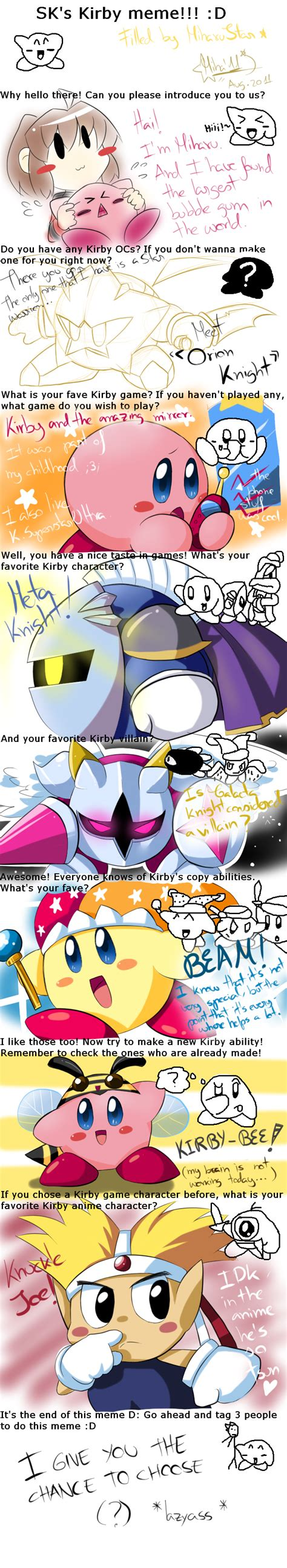 Kirby Memes - kirby meme by miharustar on deviantart