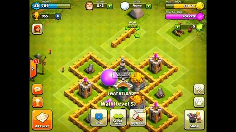 layout base coc th 5 coc th 5 farming base guide by boonksin youtube