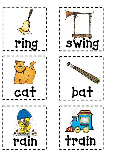 printable preschool rhyming activities rhyming memory game pdf kindergarten pinterest pdf