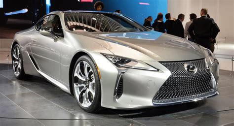 2018 lexus lc 500 flies the radar at naias