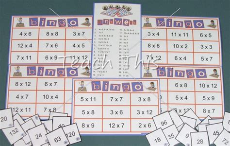 printable times tables games times tables bingo fun math games for school dominoes