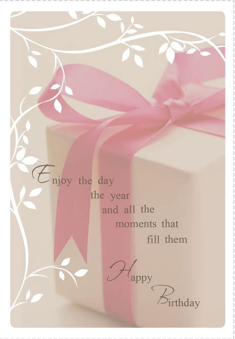Professional Birthday Quotes Free Printable Enjoy The Day Greeting Card Professional