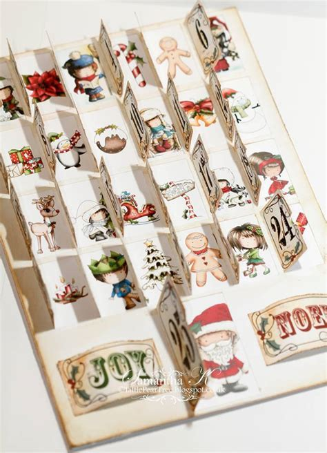 Advent Calendar card   Opening doors   Great Christmas fun