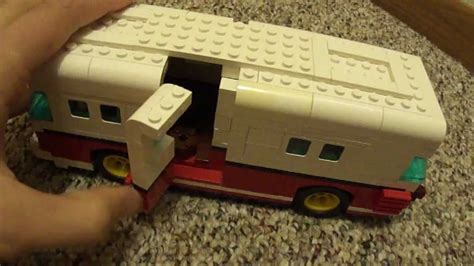 Lego Volkswagen Camper Custom (Minifigure scale)   YouTube
