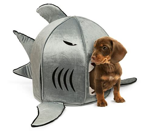 shark bed for dogs shark pet beds