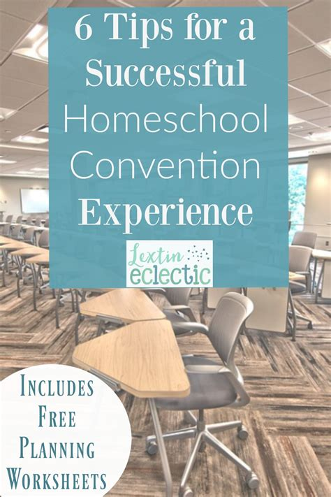 6 Tips For A Successful Hiatus by 6 Tips For A Successful Homeschool Convention Experience