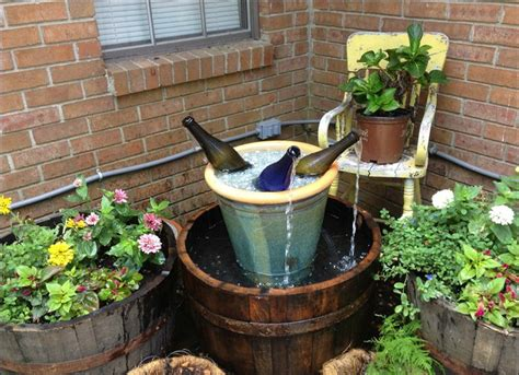 Diy Design Outdoor Fountains Ideas Wine Bottle Diy Ideas 10 Creative