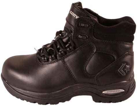 converse work boots converse athlite black leather composite toe work