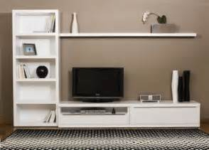Tv Stand Bookshelves Tv Stand And Cabinet Is Made In A Minimalist Modern Design