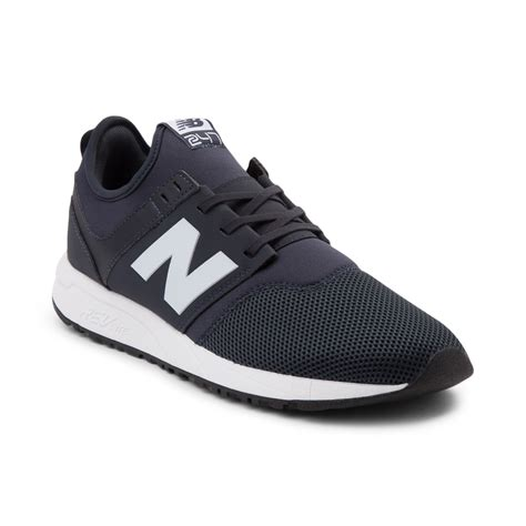 mens new balance 247 athletic shoe navywhite 401568