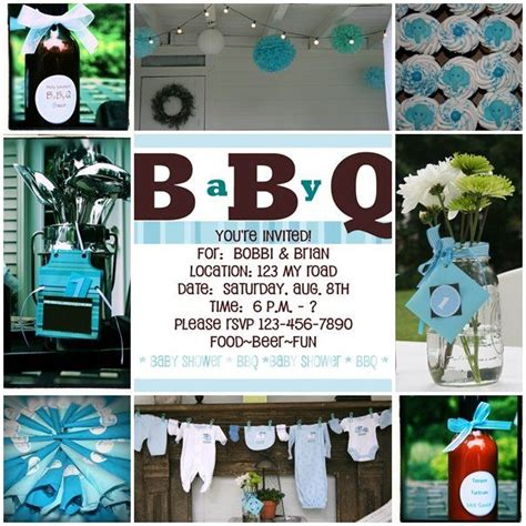 Bbq Baby Shower Decorations by Baby Shower Bbq
