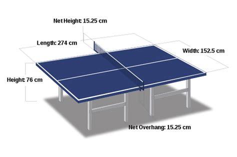 Meja Pingpong ukuran meja ping pong sesuai regulasi jadi artikel