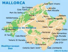 Mallorca World Map by Palma De Mallorca Airport Pmi
