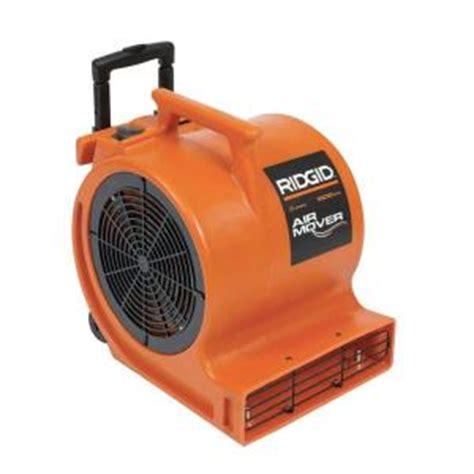 blower fan home depot ridgid plastic blower fan in orange 21113 the home depot