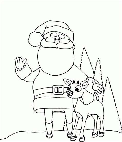 coloring pages of santa s 9 reindeer 4 reindeer coloring page coloring home