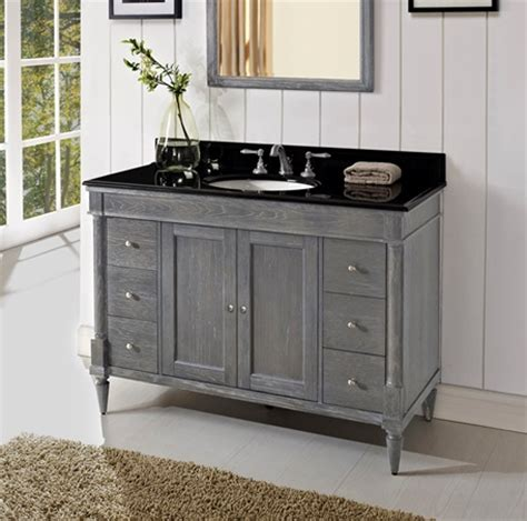 Fairmont Designs Rustic Chic Vanity by Rustic Chic 48 Quot Vanity Silvered Oak Fairmont Designs