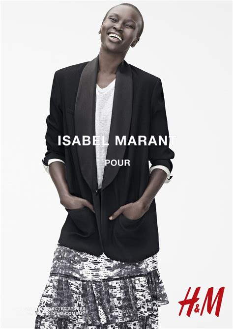 Werbowy Models For Hm by Marant For H M Caign Images