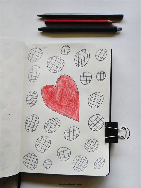 doodle everyday doodle everyday week six 2 obsessed maker